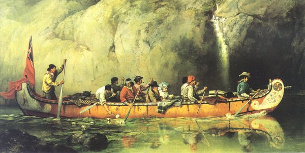 File:Voyageur canoe.jpg