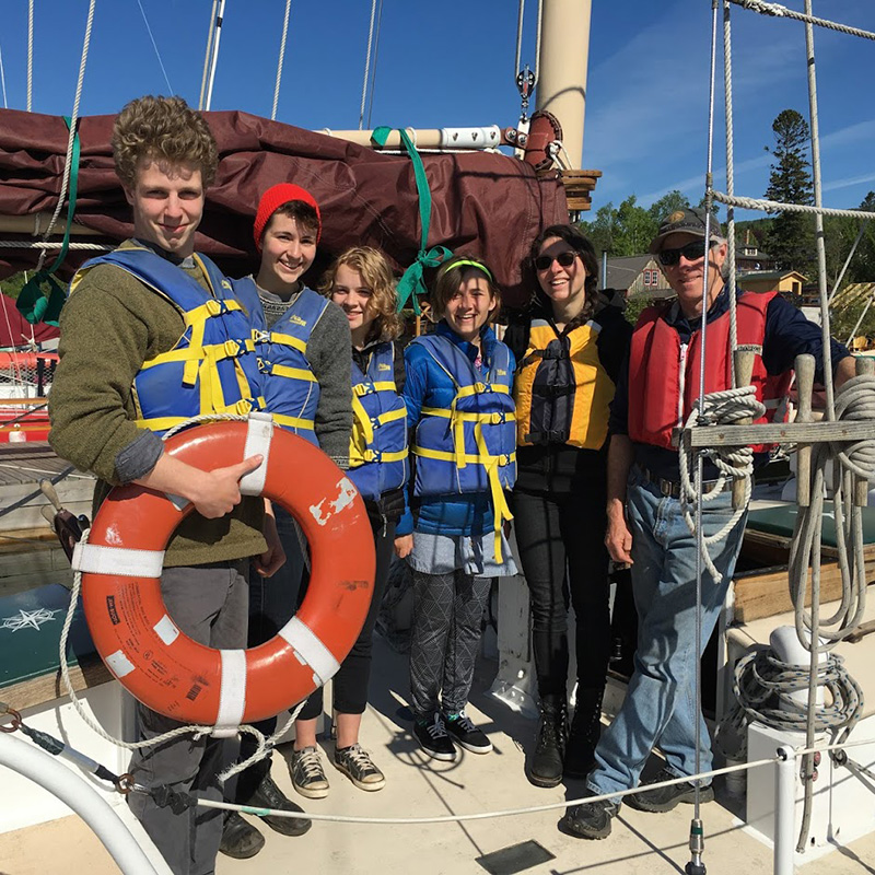 Youth Deckhanding & Youth Sailing Camp