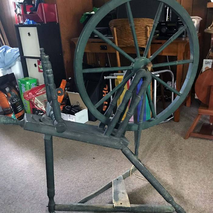 Image for An old Finnish Spinning Wheel Gets a New Life