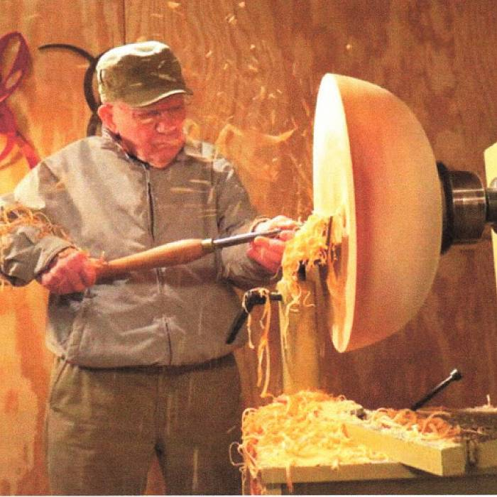 Image for A Man and His Craft: Woodworking Over Age 100