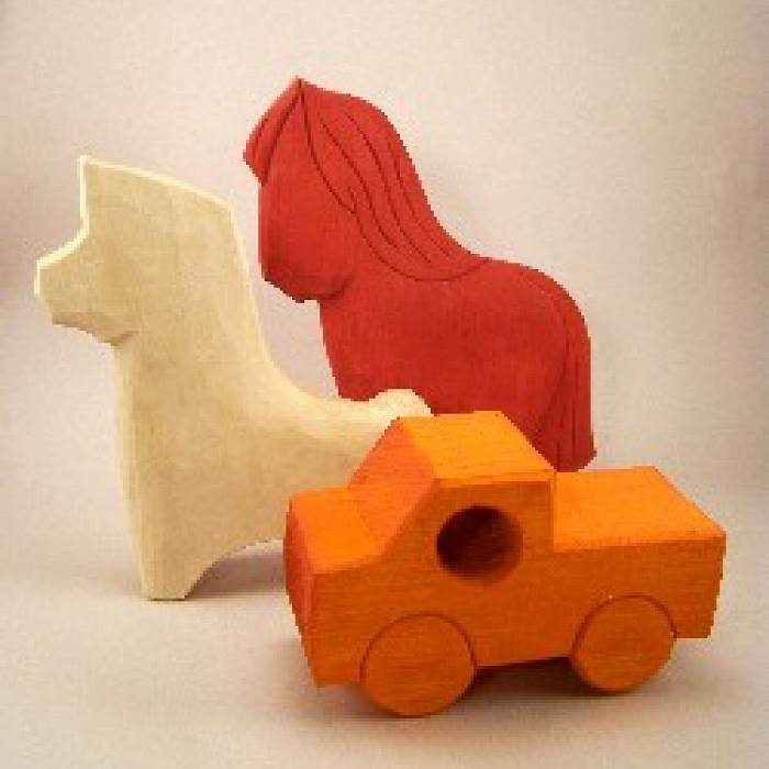 Teaser image for Filling the Handmade Toy Box: Carving Simple Wooden Toys