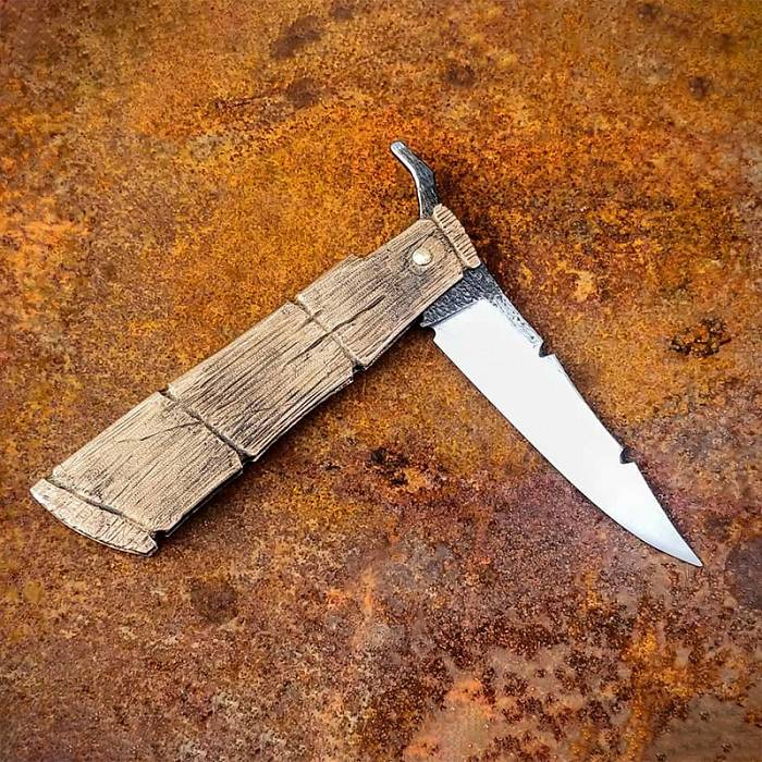 Teaser image for Blacksmith's Friction Folding Knife