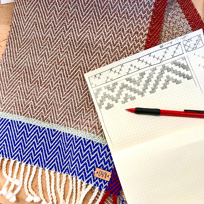 Teaser image for Creating Movement in Handwoven Textiles: Online Webinar