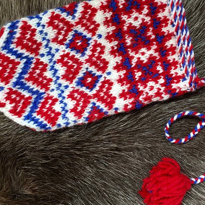 Teaser image for Sami Knitting Traditions: Kautokeino Child's Mittens