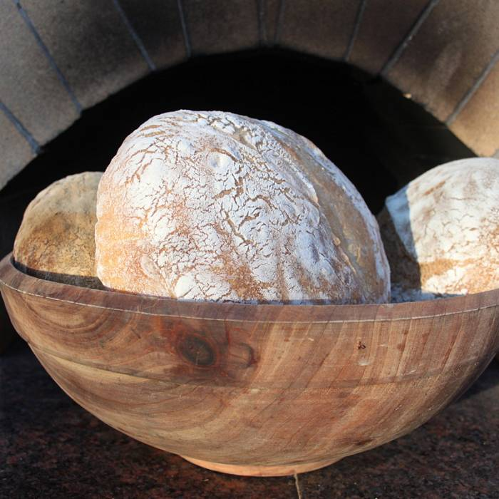 Wood-fired bread