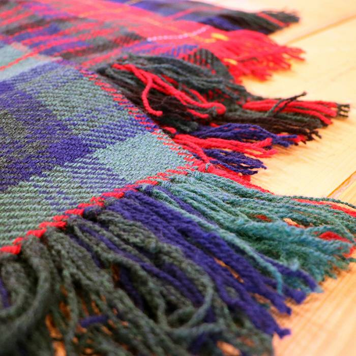 Teaser image for Weave a Scottish Tartan Scarf