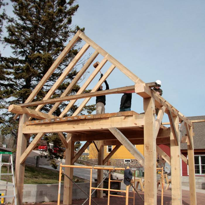 Teaser image for Basic Timber Framing