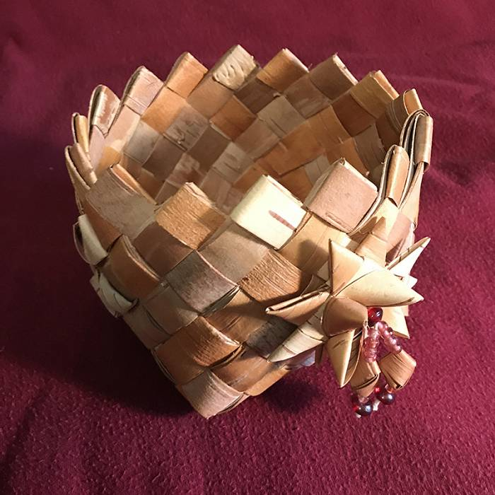 Teaser image for Baskets, Baskets, Baskets: Birch Bark Weaving
