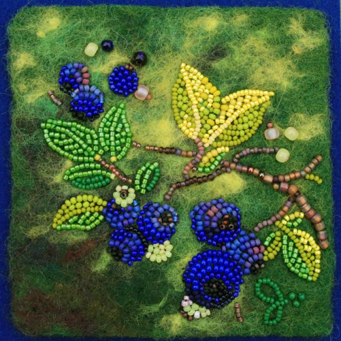 Teaser image for Bead Embroidery and Needle Felting Immersion