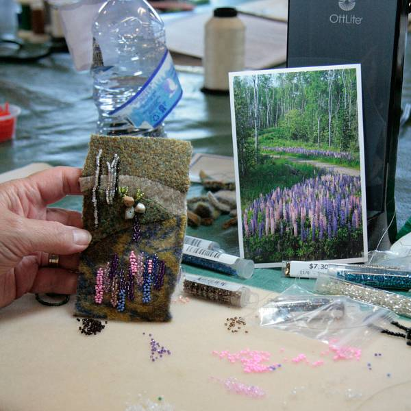 Teaser image for Bead Embroidery: Painting with Beads