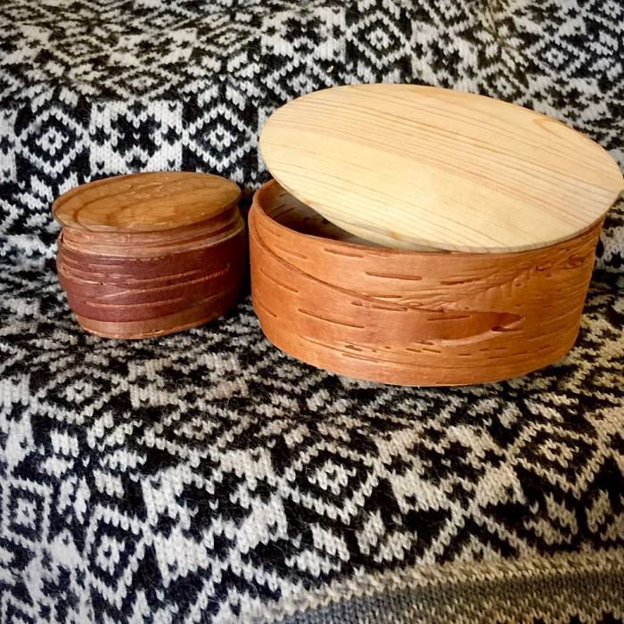 Teaser image for Birch Bark Boxes: Scandinavian Bark Basketry