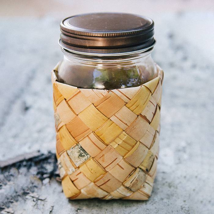 Teaser image for Birch Bark Cozy for Containers