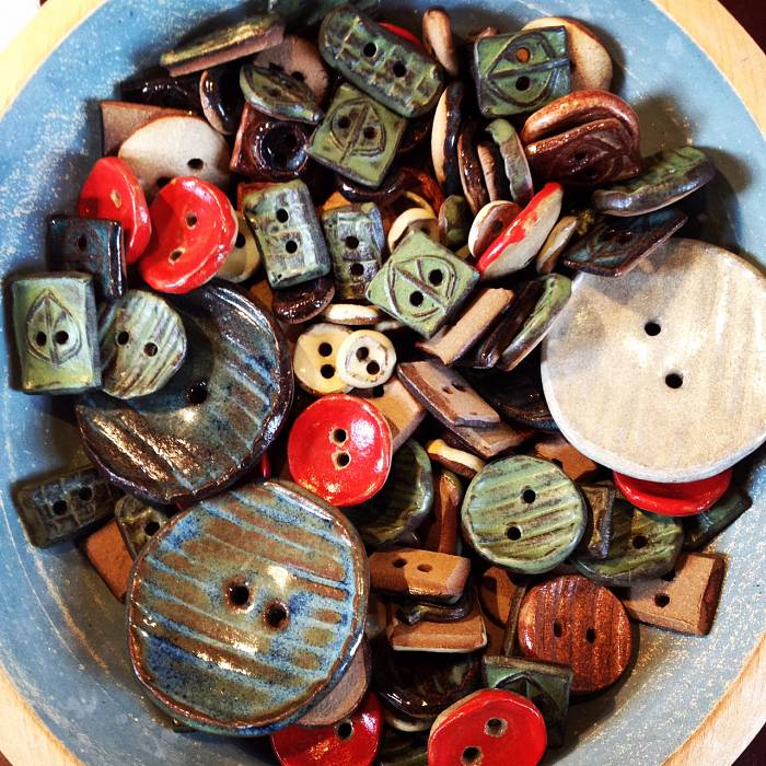 Teaser image for Buttoned Up: Make Your Own Ceramic Buttons