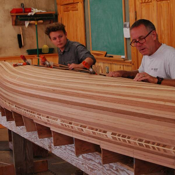 Teaser image for Cedar-Strip Boat Construction: Techniques & Fundamentals