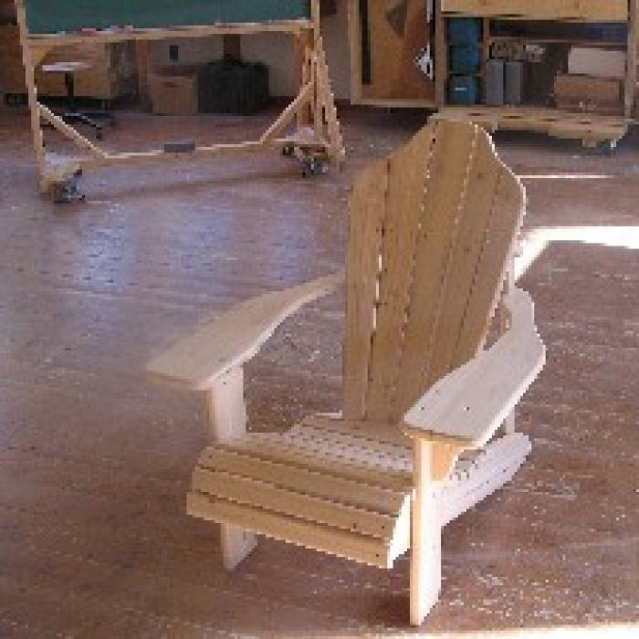 Teaser image for Service Learning Project: Adirondack Chair Building