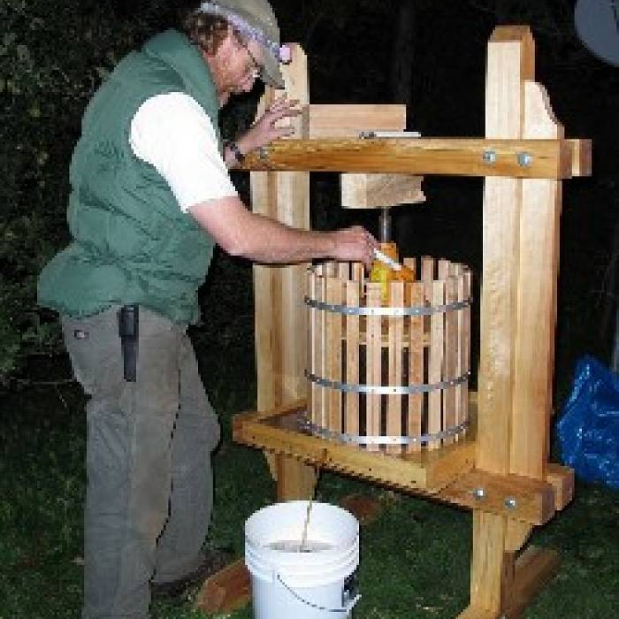 Apple Cider Press: Build Your Own