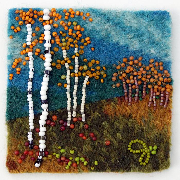 Teaser image for Colors of Autumn Bead Embroidery