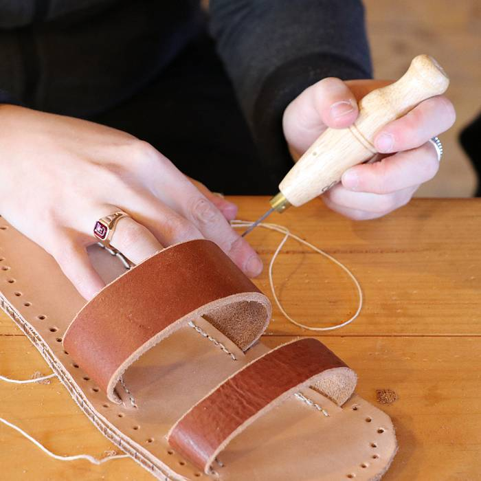 Teaser image for Custom Leather Sandal Construction