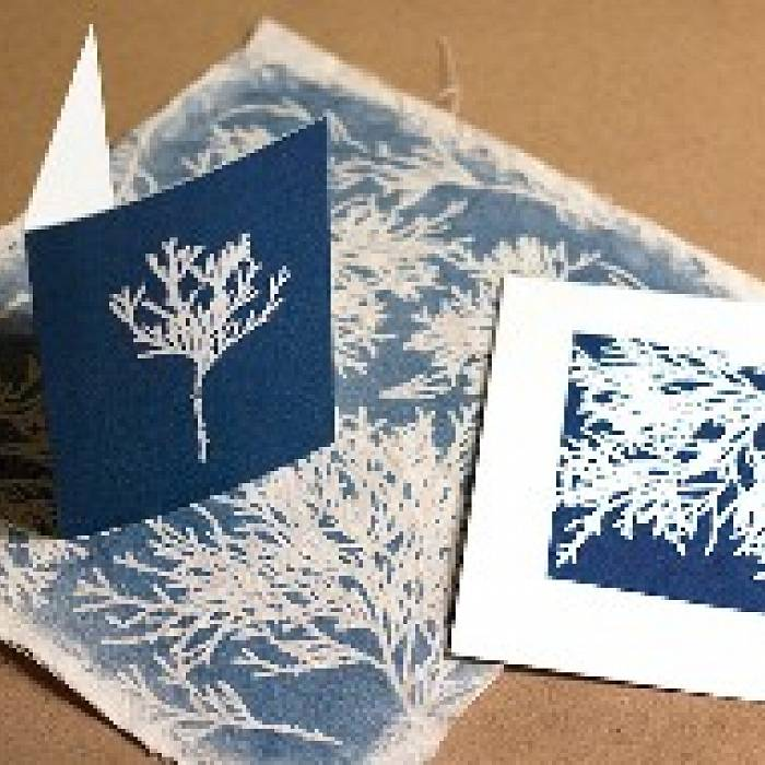 Teaser image for Handmade Photography: Intro to Cyanotype Printing