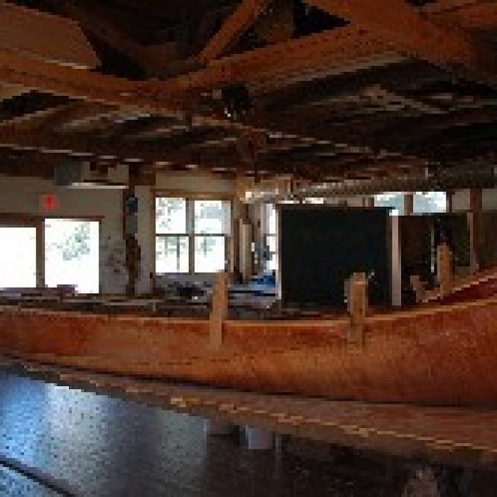 Teaser image for Birch Bark Canoe Building: From the Harvest to the Building Bed