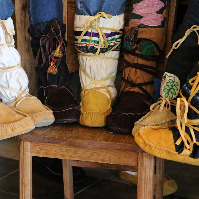 Teaser image for Expedition Footwear: Making Hide & Canvas Mukluks Up the Gunflint Trail