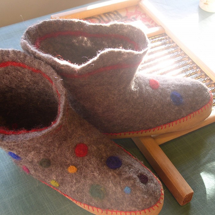 Teaser image for Felt Your Feet: Slippers or Boot Liners