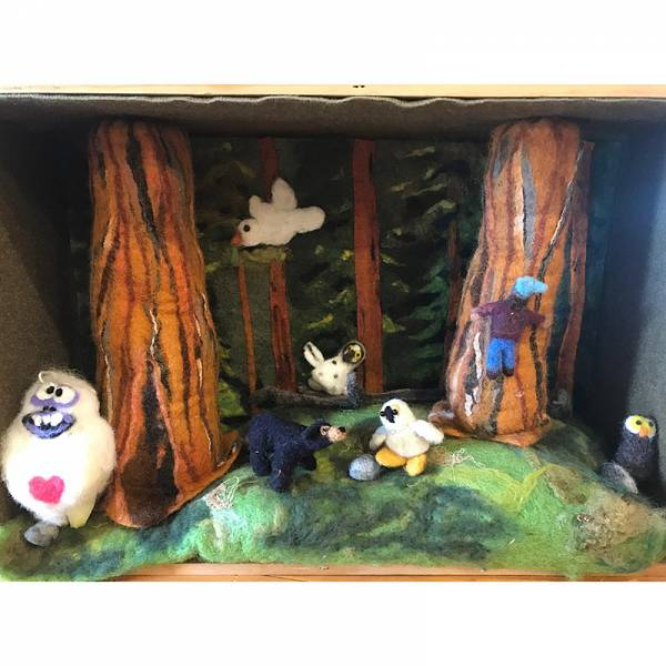 Teaser image for Felted Dioramas for Grownups