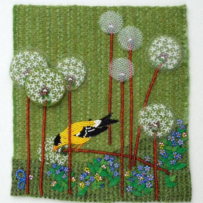 Teaser image for Flowers & Fauna of the North Woods Through Bead Embroidery