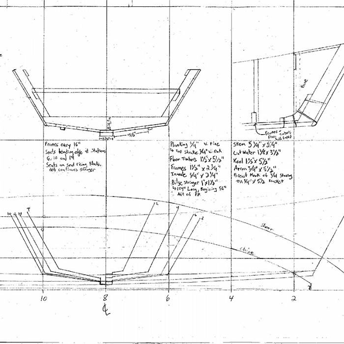 Teaser image for Framing and Planking a Traditional Herring Skiff: Boatbuilding Fundamentals