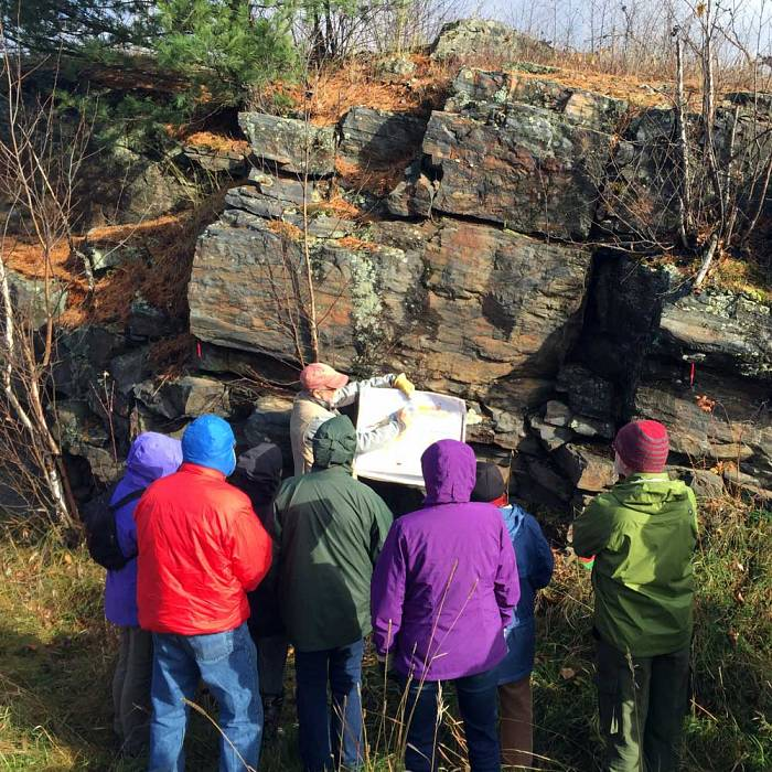 Teaser image for Geology Up the Trail: Exploring the Ancient History of the Gunflint Trail