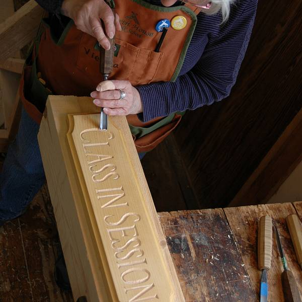 Teaser image for Hand Carved Wooden Signs