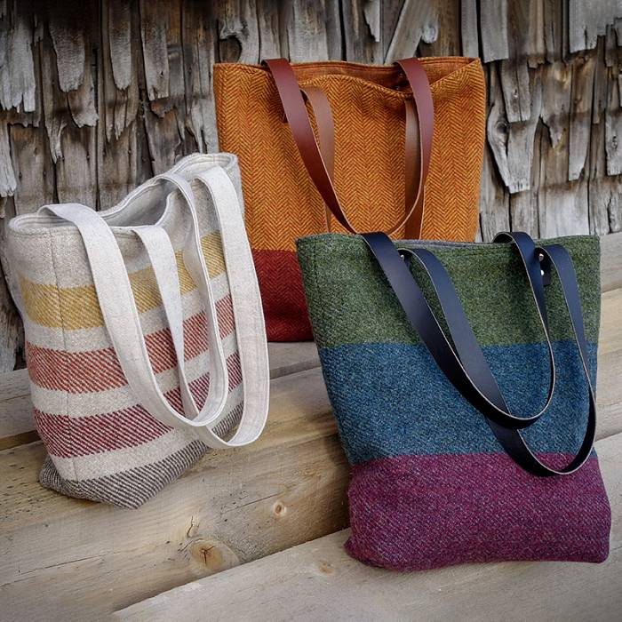 Teaser image for Handwoven Wool Tote Bag