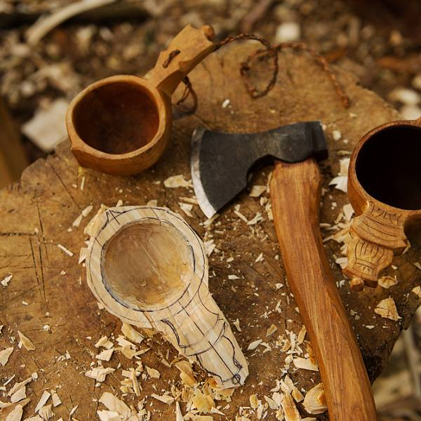 Teaser image for Kuksa Carving: Traditional Scandinavian Drinking Cup