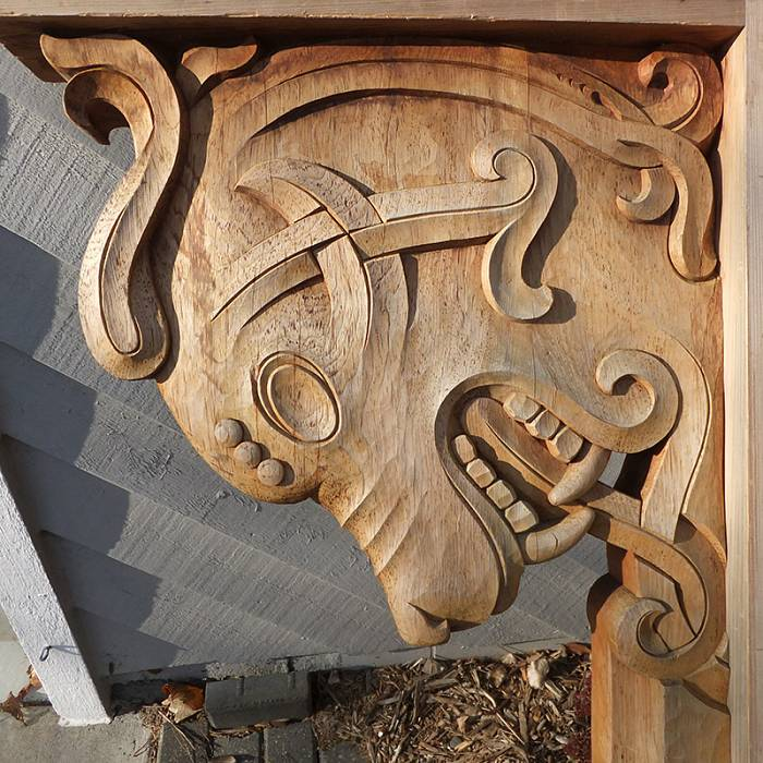 Teaser image for Large-Scale Dragon Head Carving