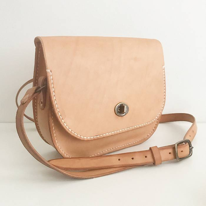 Teaser image for Handsewn Leather Shoulder Bag: Online Course