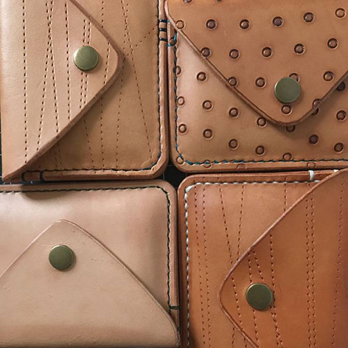 Teaser image for Leather Wallets: Sew Your Own