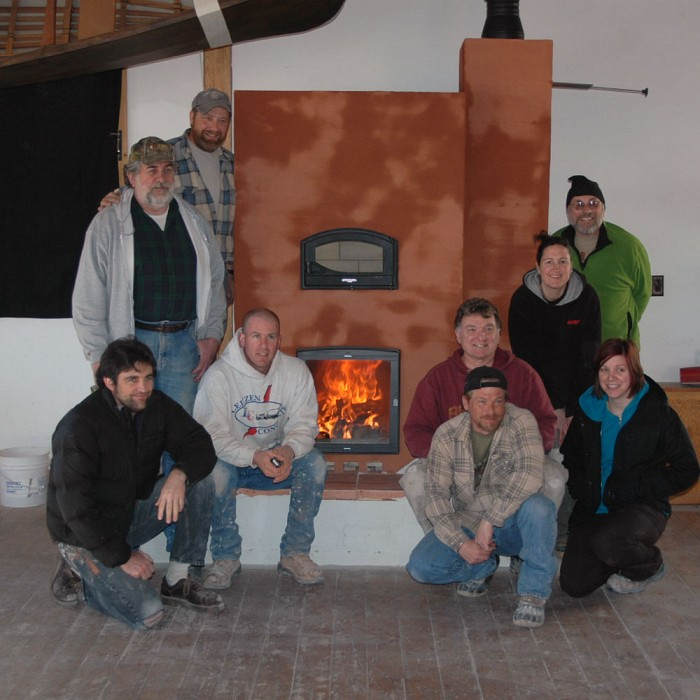 Teaser image for Masonry Heater Building Workshop