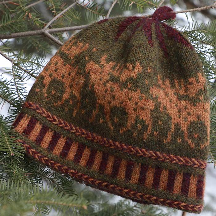 Teaser image for Moose-ing Around: Knit a Moose Hat in the Round