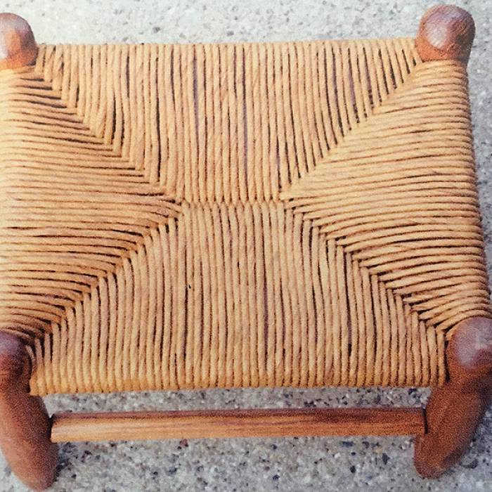 Teaser image for Put Your Feet Up: Weave a Footstool with Paper Fiber Rush