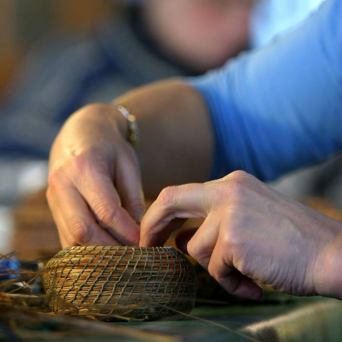 Teaser image for Pine Needle Basketry
