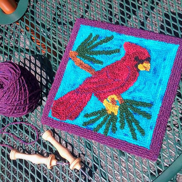 Teaser image for Punch Needle Rug Hooking: Birds of the Northwoods