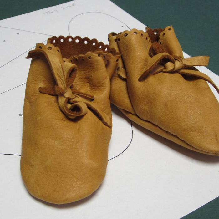 Teaser image for Sewing Deer Hide Baby Booties