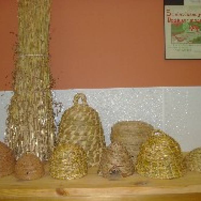 Craft Your Own Coiled Bee Skep