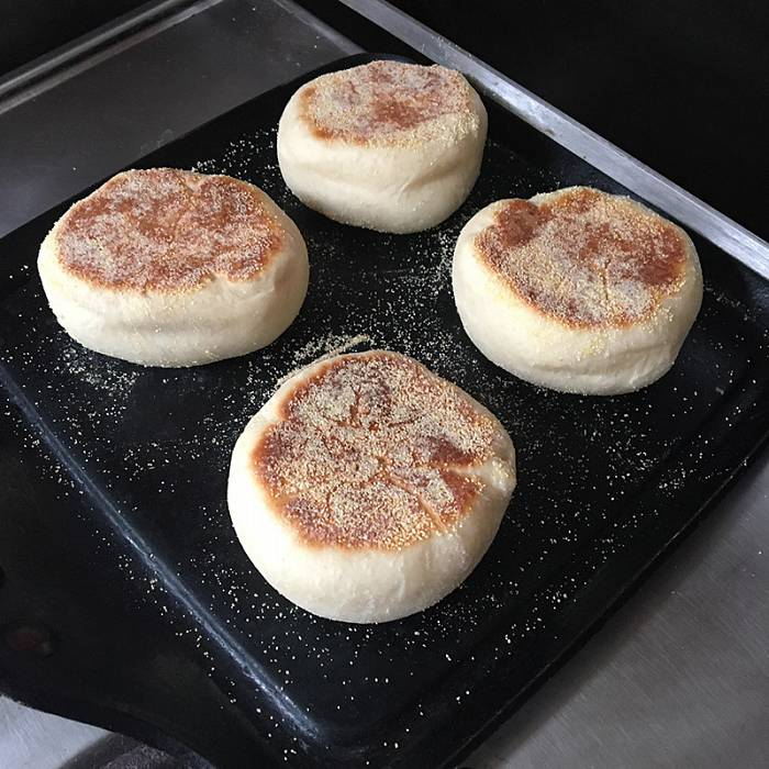 Teaser image for Small Breads: Pretzel Buns, English Muffins, and Buttermilk Biscuits Online Course