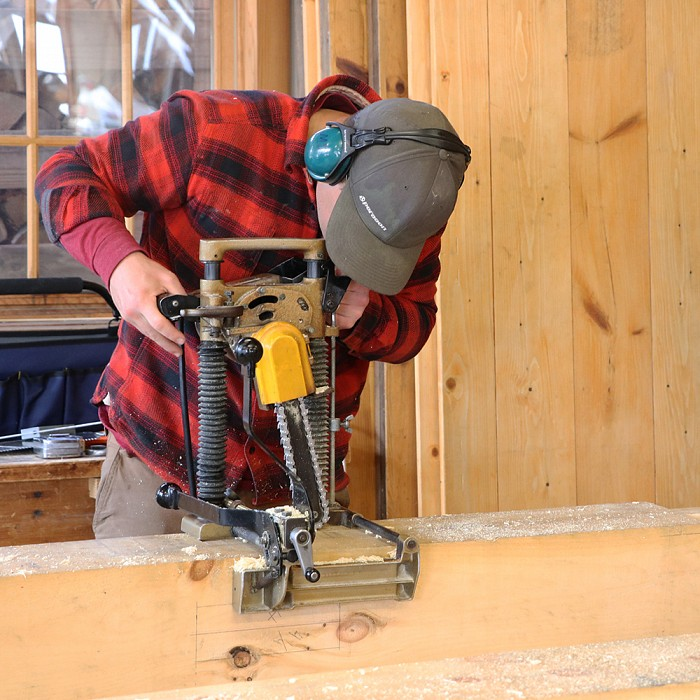 Timber Frame Build Your Own, Larger Frames - 08082017 - 08172017
