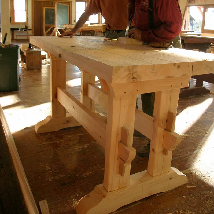 Teaser image for Timbered Workbench: Early American Style
