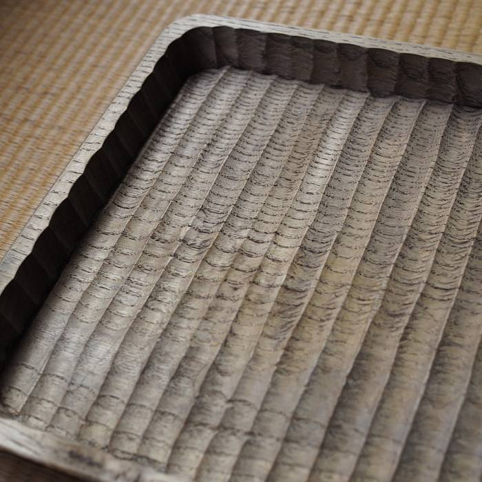 Teaser image for Japanese Folk Craft: 'The Wagatabon' Carved Wood Tray
