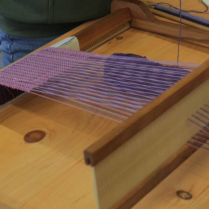 Teaser image for Weaving on the Rigid Heddle Loom: Spring Scarves