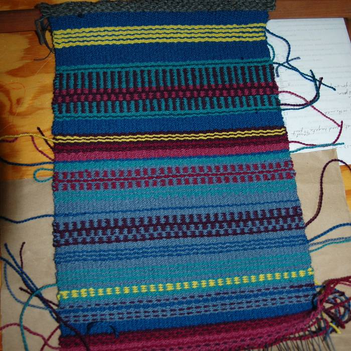 Teaser image for Weft-Faced Weaving on the Rigid Heddle Loom