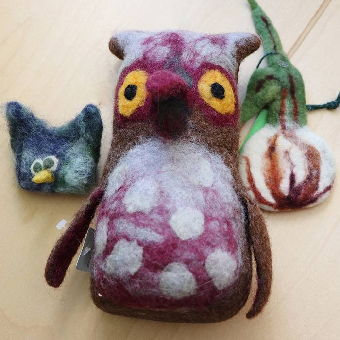 Teaser image for Family Class - Wooly Worlds: Felted Dioramas